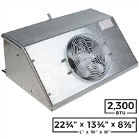 Reach-In Unit Cooler - 2,300 Btuh