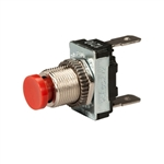 Off-(On) Push Button Switch - Push Terminal - SPST