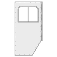 Custom Fabricated Passenger Door