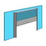 Plexiglass Side Serving Window