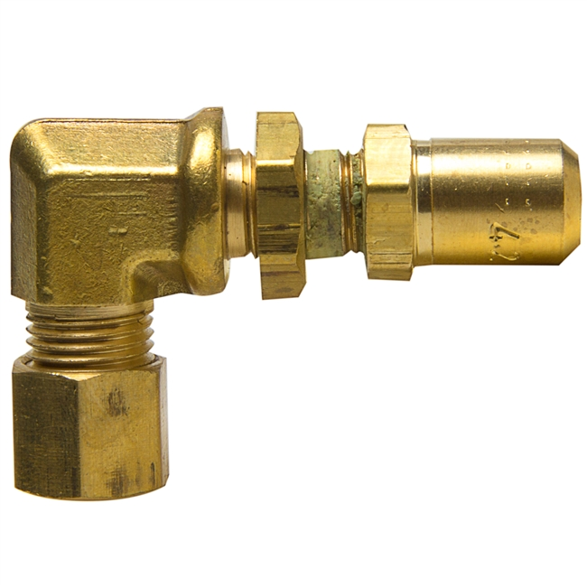 Elbow orifice mixer brass