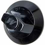 Gloss Black Wolf Range Gas Knob