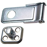 Hasp with Staple - Zinc Plated