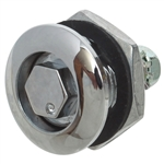 "Quarter Turn Latches - 7/16"" Hex Plug"