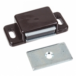 Magnetic Catch - Plastic - Zinc Plated Keeper - 47mm x 20mm