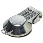 Cam Lock Dust Cover - Steel - Chrome Plated