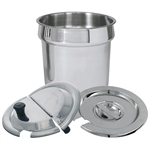 11 Qt. Stainless Steel Inset Pan