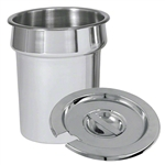 2-1/2 Qt. Stainless Steel Inset Pan