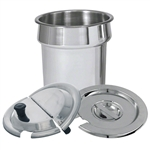 4 Qt. Stainless Steel Inset Pan