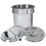 7 Qt. Stainless Steel Inset Pan