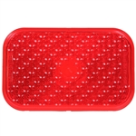 "5"" Stop & Tail Light Lens - Red"