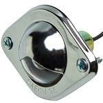 License Light - Chrome Plated