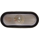 Oval Back-Up Light - Clear - Kit