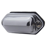 License Light - Chrome - White