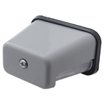 Rectangular License Light - Gray Plastic