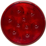 "9 LED Red 4"" Stop/Tail/Turn Light"