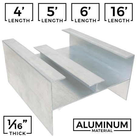 Aluminum Extrusion Extruded Profile