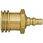 "POL & QCC Filler Couplings & Adapters - Adapter - MPOL/1-5/16"" F.ACME(QCC) x Quick Disconnect (Marshall Excelsior)"