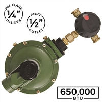 650,000 BTU Automatic Changeover Regulator (Marshall Excelsior)
