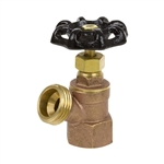 Brass Boiler Drain w/ Stuffing Box - FIP - Series 102