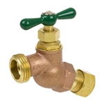 Brass No Kink Hose Bibb - Compression