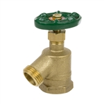 Brass Bent Nose Garden Valve - FIP Inlet - Series 170