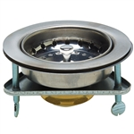 Ezz-On - Duo Sink Strainer - Stainless