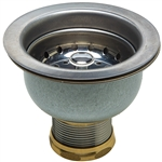 Double Cup Strainer - Stainless Steel