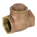 Brass Swing Check Valve - Threaded - Series 9191L