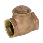 Brass Swing Check Valve - Threaded - Series 9191