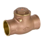 Brass Swing Check Valve - Sweat - Series 9192L
