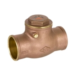 Brass Swing Check Valve - Sweat - Series 9192