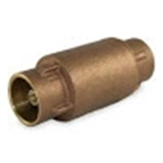 Brass In-Line Check Valve - Sweat - Series CV35L