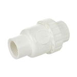 PVC In-line Check Valve - Threaded - Series CV40