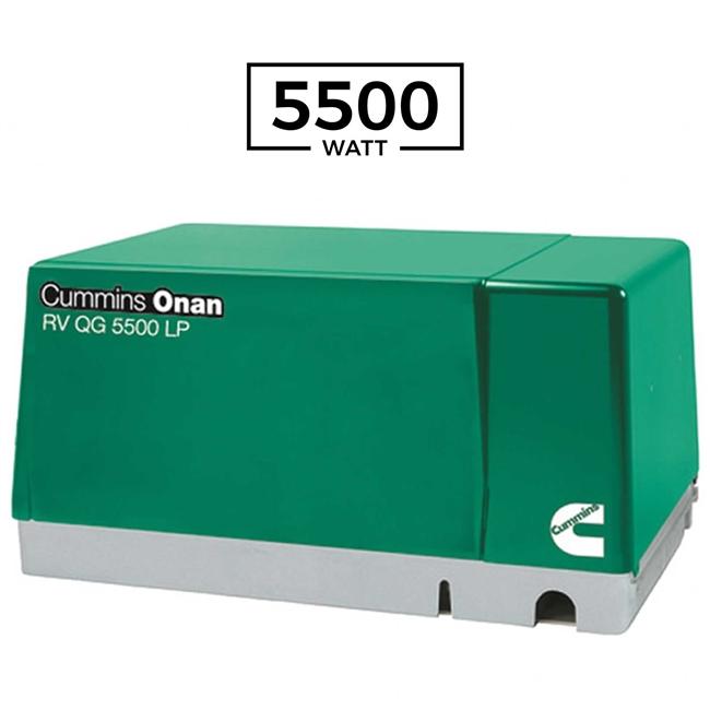 Cummins Onan 5 5kw Rv Generator Rv Qg 5500 Evap
