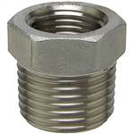 Hex Bushing - Threaded - Stainless