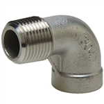 90° Street Elbow - Threaded - Stainless