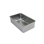 "6.5"" Full Size Stainless Steel Spillage Pan"
