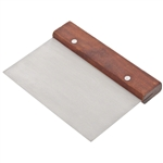 Dough Scraper w/ Wooden Handle