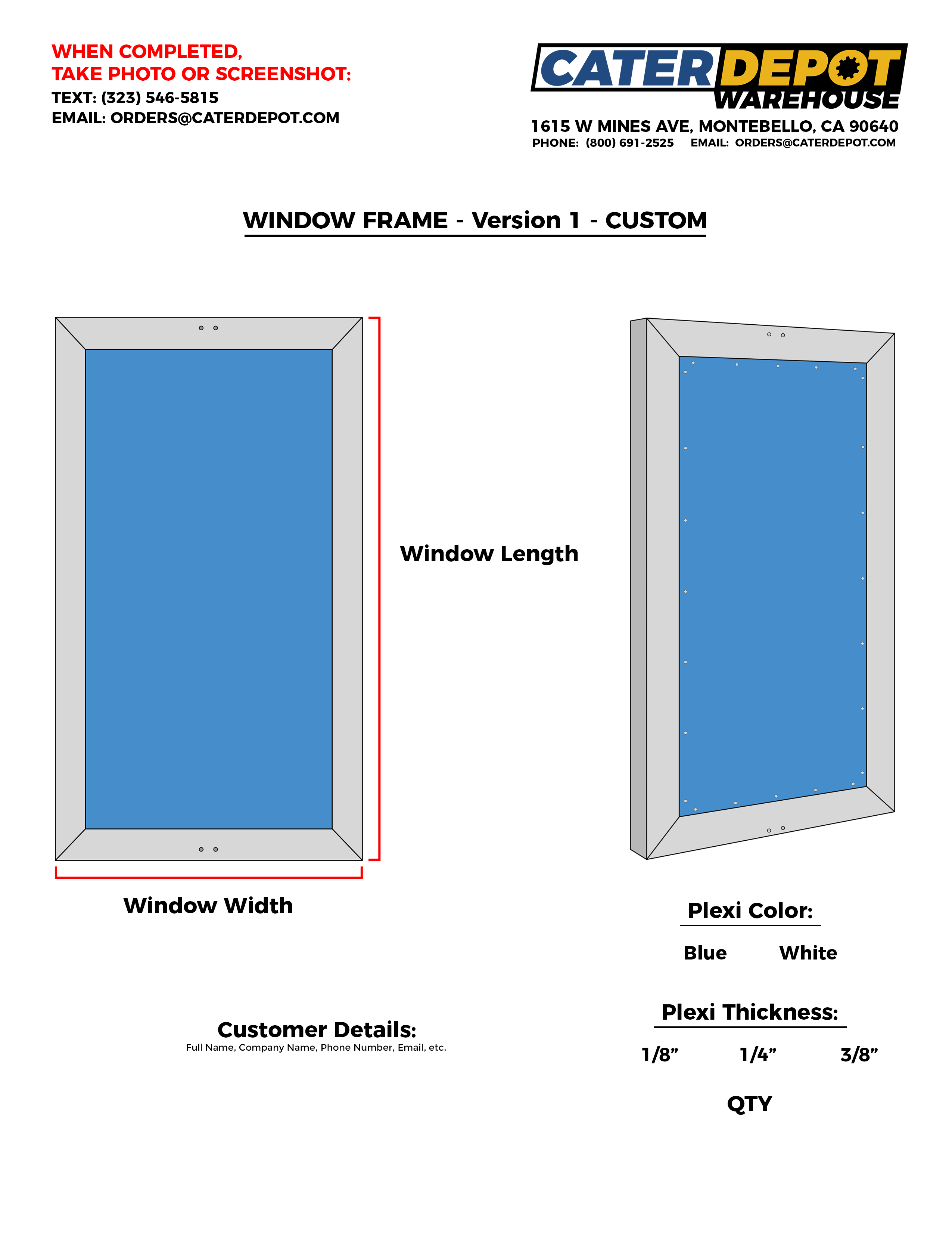 Custom Window Frame v1