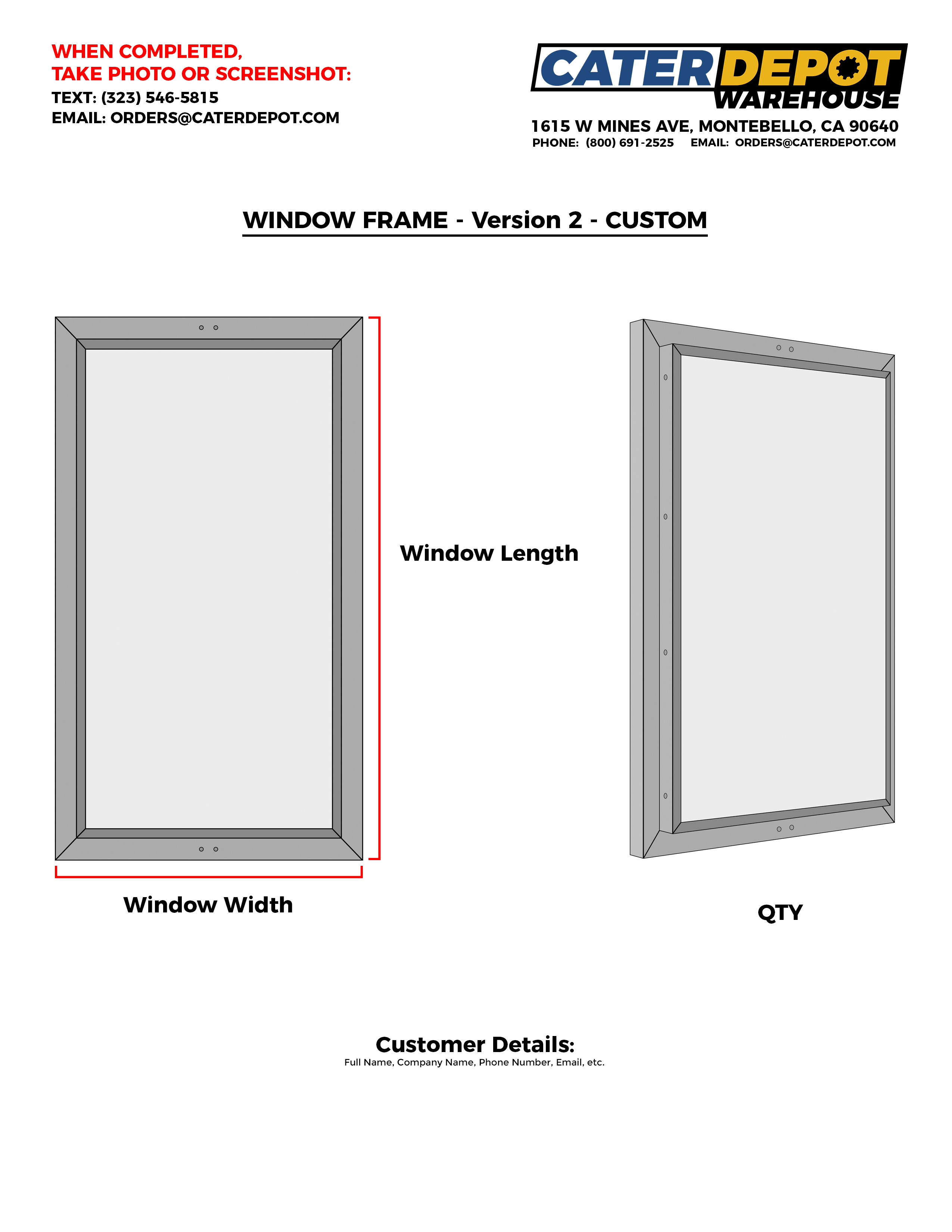 Custom Window Frame v2