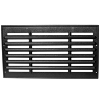 Black ABS Plastic Grill