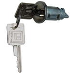 Ignition Lock Cylinder and Keys for GM