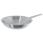 Natural Finish Aluminum Fry Pan