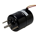 Mini 2 Speed 12V Fan Motor - Short Shaft