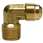 Brass Elbow - Flare x Male Pipe Thread