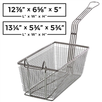 Rectangular Wire Fry Basket