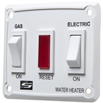 Gas/Electric Suburban Water Heater Switch