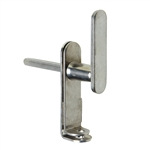 Polished Padlock Handle