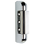 Chrome Plated Edgemount Hinge